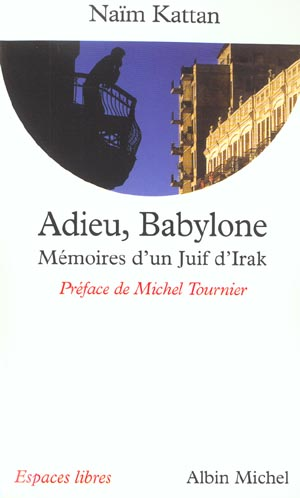 "Couverture ""Adieu Babylone"""
