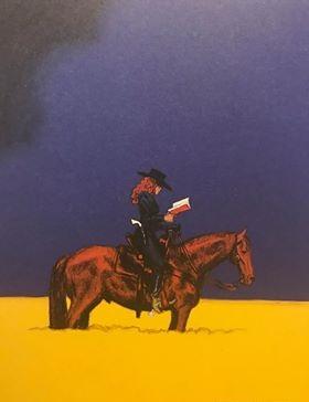 La fille à cheval de Christophe Blain